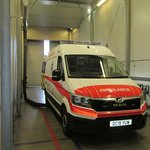 Climatic and functional test of MAN ambulance vehicle